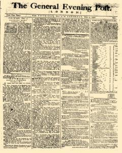 General Evening Post, December 02, 1790, Page 1