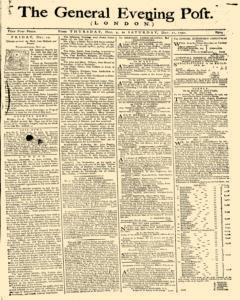 General Evening Post, December 09, 1790, Page 1