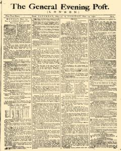 General Evening Post, December 11, 1790, Page 1