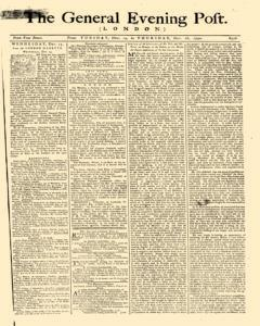 General Evening Post, December 14, 1790, Page 1