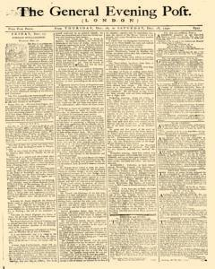 General Evening Post, December 16, 1790, Page 1