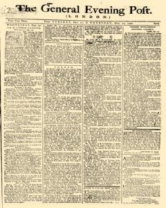 General Evening Post, December 21, 1790, Page 1