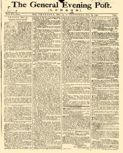 General Evening Post, December 23, 1790, Page 1