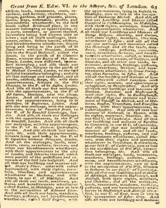 Gentlemans Magazine and Historical Chronicle, February 01, 1766, p. 16