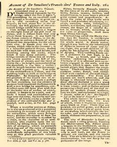 Gentlemans Magazine and Historical Chronicle, June 01, 1766, p. 13