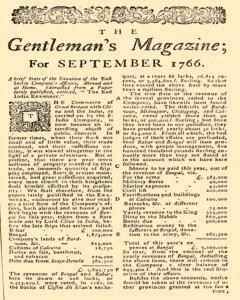 Gentlemans Magazine and Historical Chronicle, September 01, 1766, Page 3