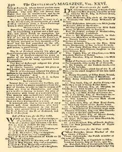 Gentlemans Magazine And Historical Chronicle, November 01, 1766, Page 56