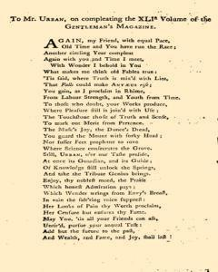 Gentlemans Magazine and Historical Chronicle, January 01, 1771, p. 2