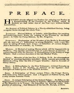 Gentlemans Magazine and Historical Chronicle, January 01, 1771, p. 3
