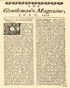 Gentlemans Magazine and Historical Chronicle, July 01, 1771, Page 3
