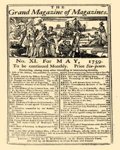 Grand Magazine Of Magazines Or Universal Register, May 01, 1759, Page 1