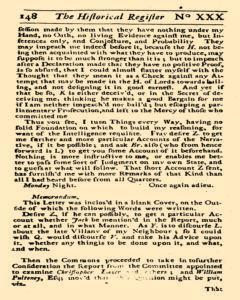 Historical Register, January 01, 1723, Page 205
