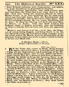 Historical Register, January 01, 1723, Page 249