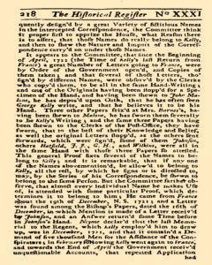 Historical Register, January 01, 1723, Page 275
