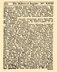 Historical Register, January 01, 1723, Page 309