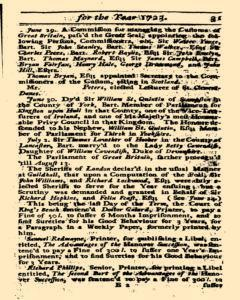 Historical Register, January 01, 1723, Page 32