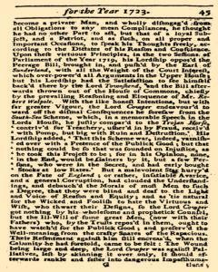 Historical Register, January 01, 1723, Page 46