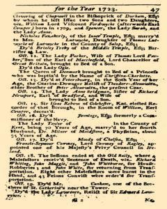 Historical Register, January 01, 1723, Page 48