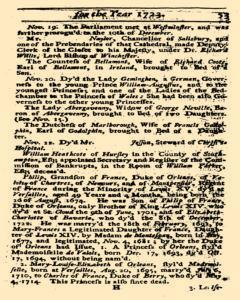 Historical Register, January 01, 1723, Page 54