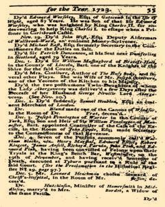 Historical Register, January 01, 1723, Page 56