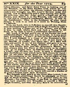 Historical Register, January 01, 1723, Page 142