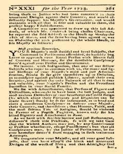 Historical Register, January 01, 1723, Page 318