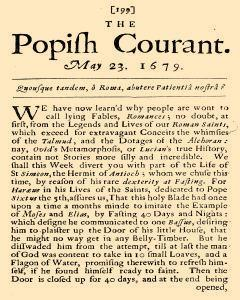 History of Popery, May 23, 1679, Page 3