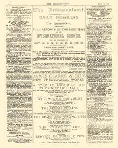 Independent And Nonconformist, July 10, 1891, Page 2