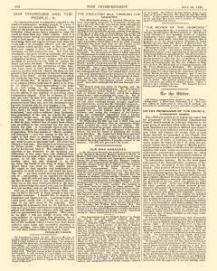 Independent And Nonconformist, July 10, 1891, Page 4