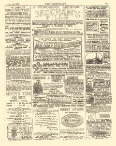Independent And Nonconformist, July 10, 1891, Page 15