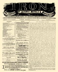 Iron, October 28, 1876, Page 1