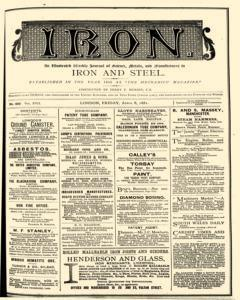Iron, April 08, 1881, Page 1