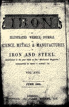 Iron, June 03, 1881, Page 1
