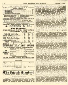 Jewish Standard, October 05, 1888, Page 8