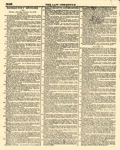 Law Chronicle, November 21, 1816, Page 2