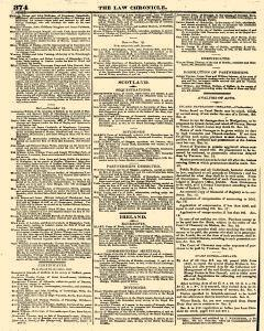 Law Chronicle, November 21, 1816, Page 8