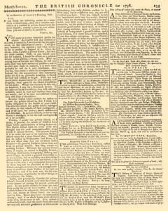 Lloyds Evening Post and British Chronicle, March 08, 1758, Page 3