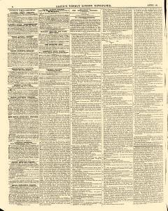 Lloyds Weekly London Newspaper, April 20, 1845, Page 6