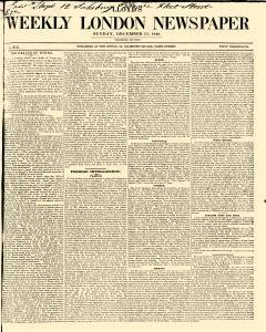Lloyds Weekly London Newspaper, December 13, 1846, Page 1