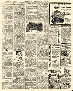 Lloyds Weekly News, September 24, 1905, Page 9