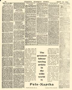 Lloyds Weekly News, September 24, 1905, Page 12