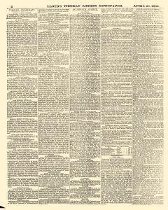 Lloyds Weekly Newspaper, April 20, 1890, Page 2