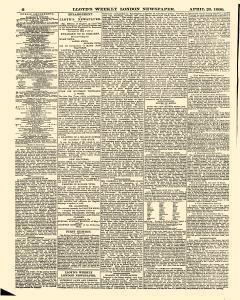 Lloyds Weekly Newspaper, April 20, 1890, Page 6