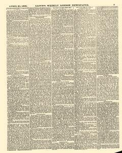 Lloyds Weekly Newspaper, April 20, 1890, Page 7