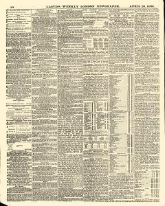 Lloyds Weekly Newspaper, April 20, 1890, Page 10