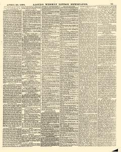 Lloyds Weekly Newspaper, April 20, 1890, Page 11