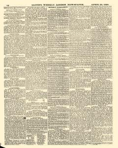 Lloyds Weekly Newspaper, April 20, 1890, Page 12