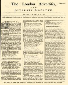 London Advertiser And Literary Gazette, March 11, 1851, Page 1