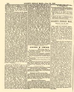 London Allen Indian Mail and Official Gazette, June 28, 1867, Page 2