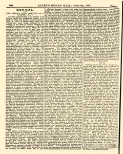 London Allen Indian Mail and Official Gazette, June 28, 1867, Page 4